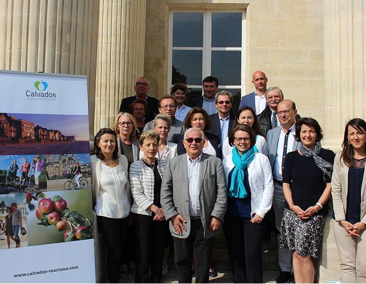 Les membres de l'Assemblée générale Calvados Attractivité