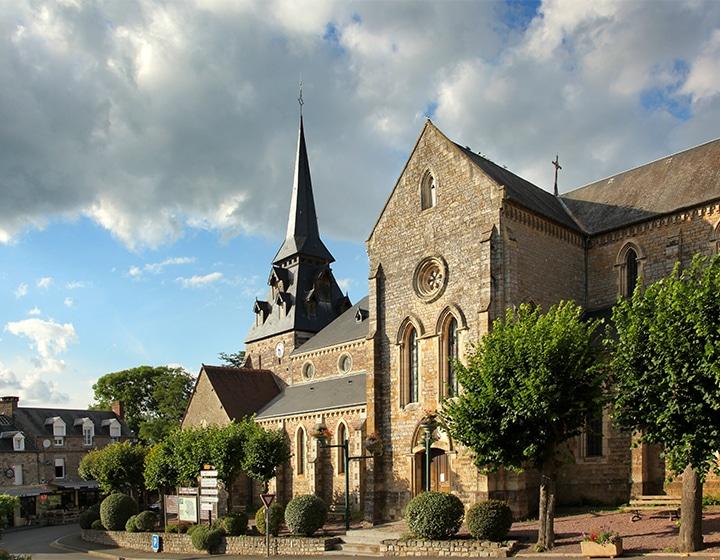 Eglise d'un village du Calvados