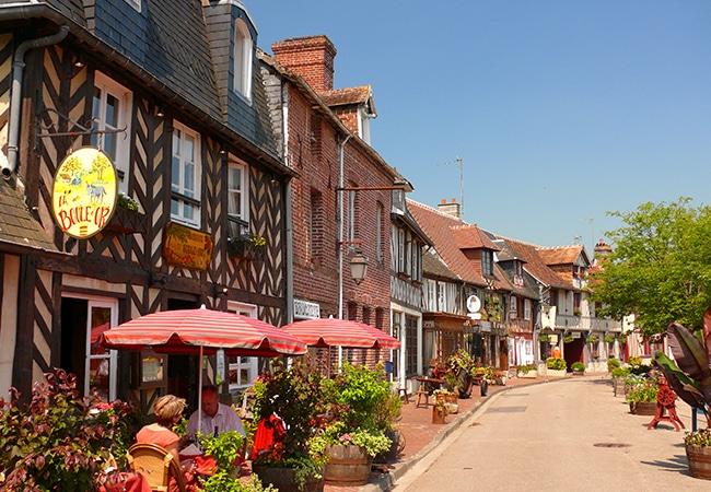 Beuvron-en-auge, village de caractère du Calvados en Normandie