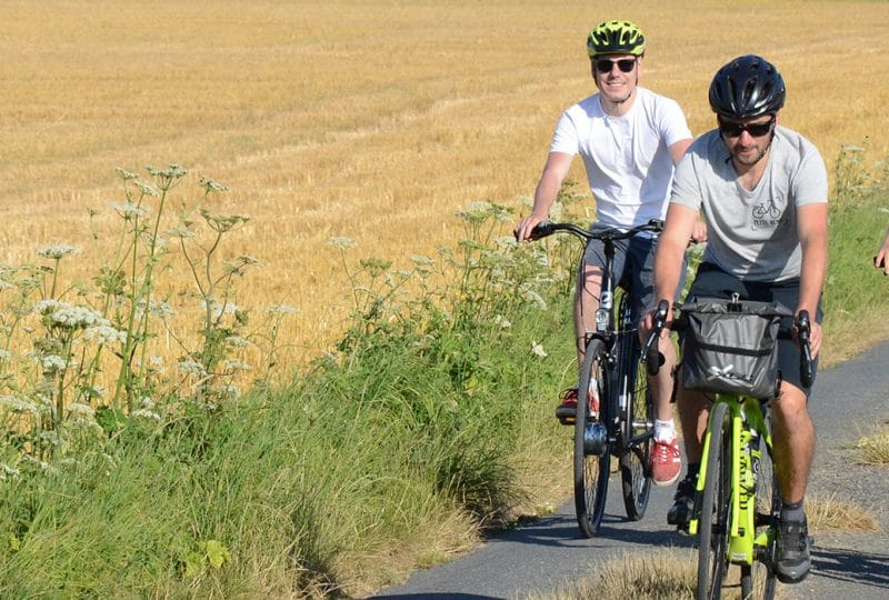 Balades accompagnées à vélo