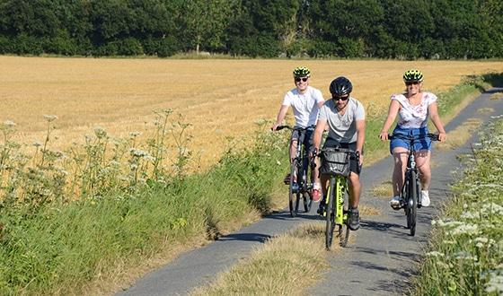 Balade accompagnée à vélo dans le Calvados en Normandie