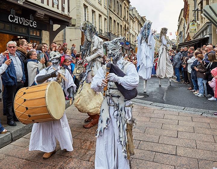Fête médiévale de Bayeux dans le Calvados
