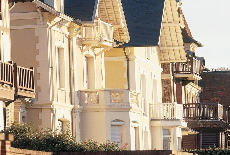 Villas de bord de mer dans le Calvados