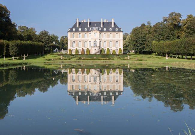 Château de vendeuvre et son jardin