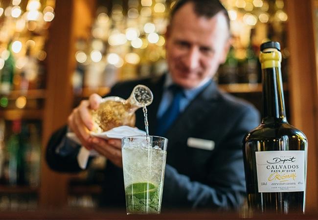 Cocktail à l'hôtel Normandy Barrière
