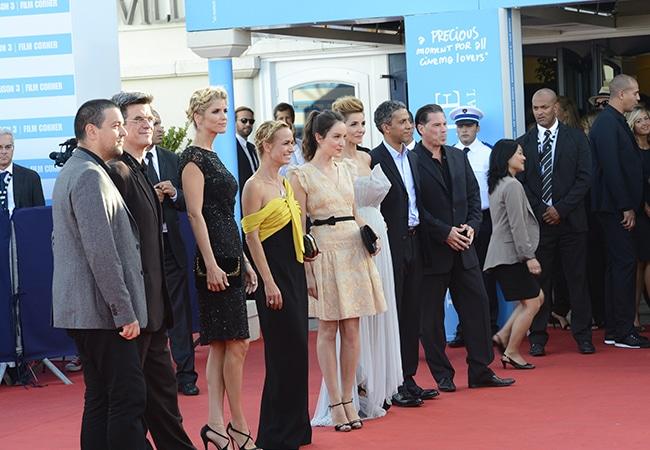 Tapis rouge du festival du film américain de deauville