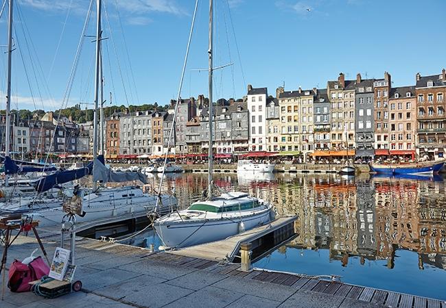 Port de Honfleur dans le Calvados