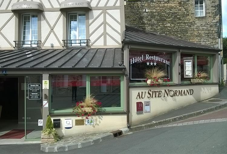 Au site normand dans le Calvados