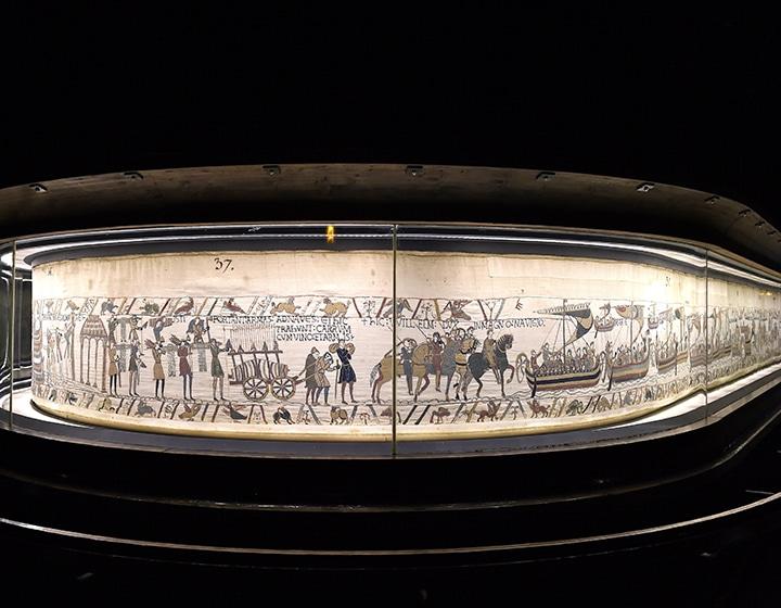 Tapisserie de Bayeux dans le Calvados