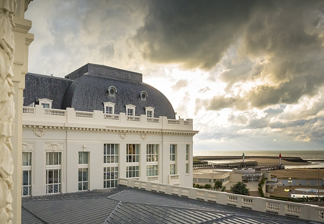 Vue du casino de Trouville sur mer