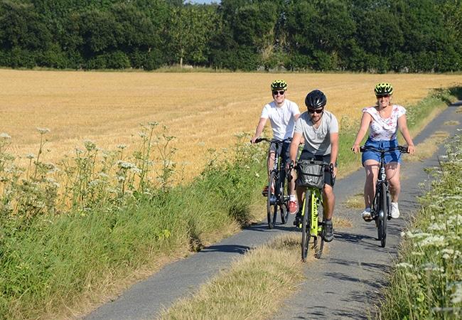 Balade accompagnée à vélo
