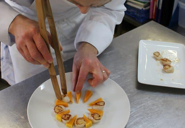 Dressage de l'assiette