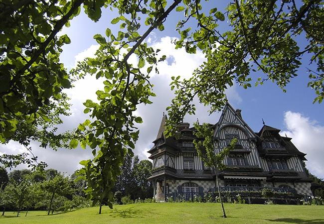 Villa Strassburger à Deauville