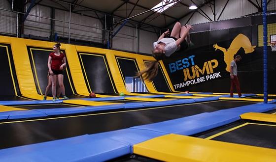 Entrainement de Best Jump à Honfleur