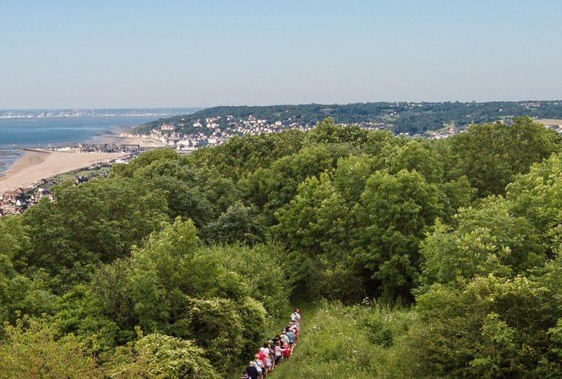 Balade entre terre et mer dans le Calvados en Normandie