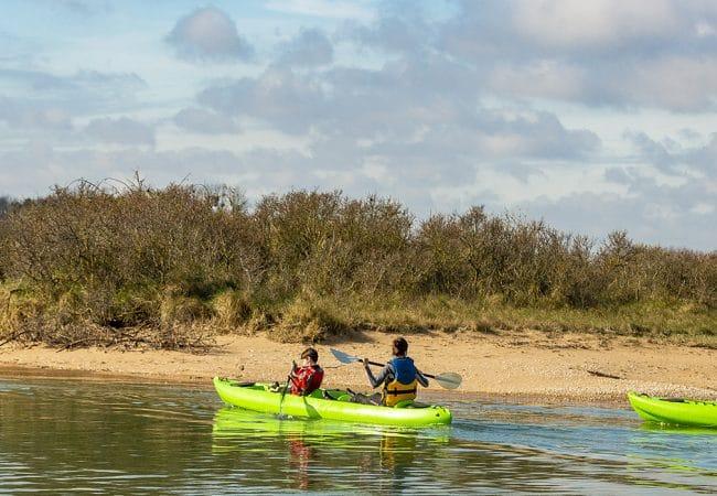Balade en canoë-kayak dans le Calvados