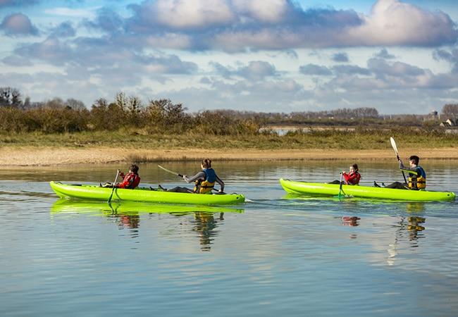Balade en canoe-kayak dans le Calvados