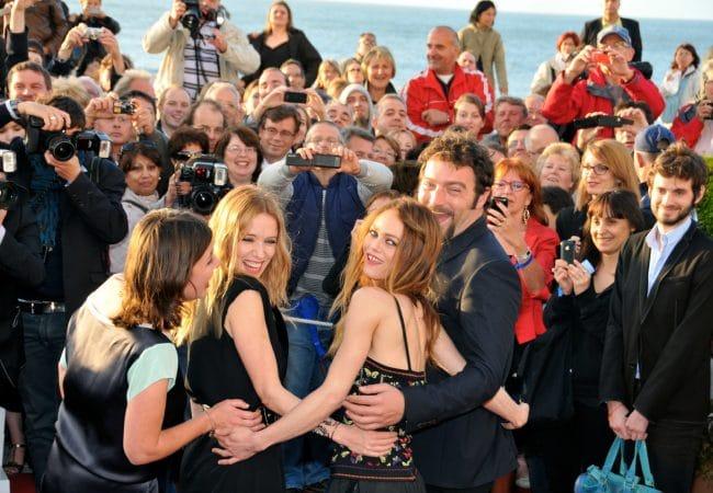 Vanessa Paradis, Léa Drucker, Stars au festival au film de Cabourg