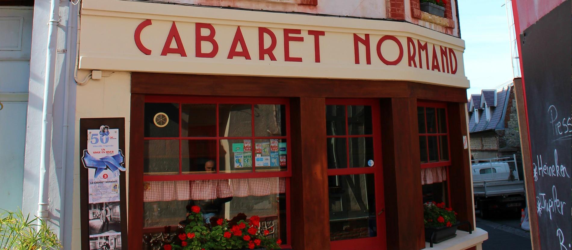 Cabaret Normand à Villerville dans le Calvados en Normandie