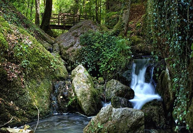 Cours d'eau et nature à la brèche au diable