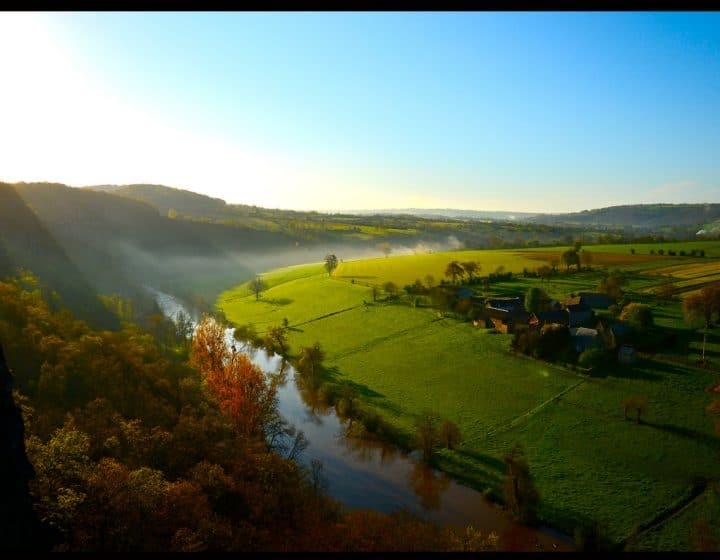Vue sur la Suisse Normande