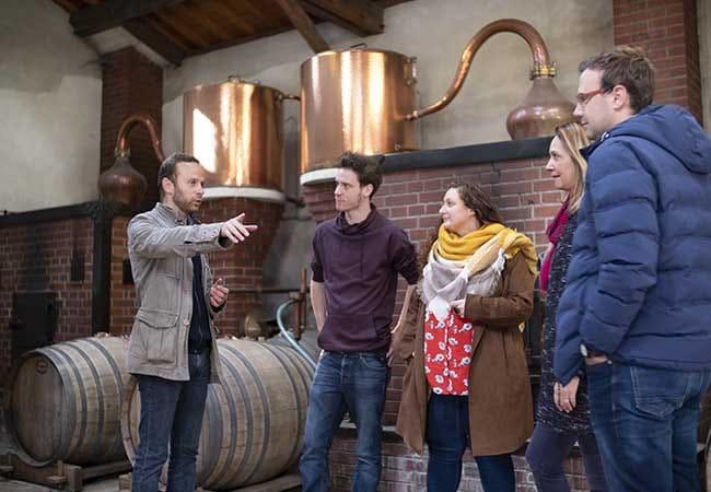 Visites de groupe dans une distillerie