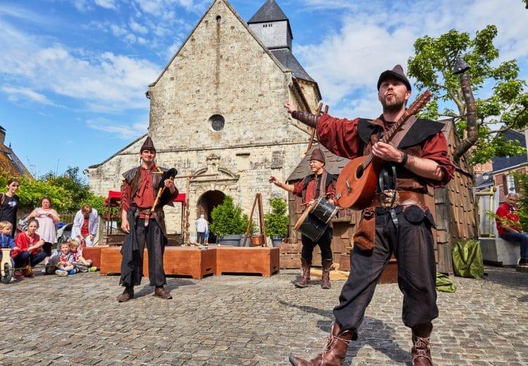 Fêtes médiévales dans le Calvados