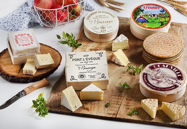 Plateau de fromages normand