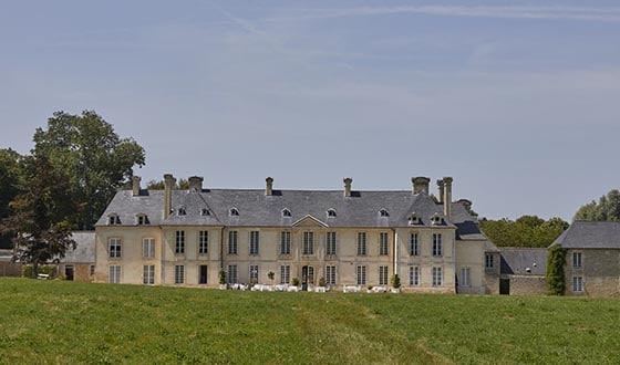 Façade château d'Audrieu