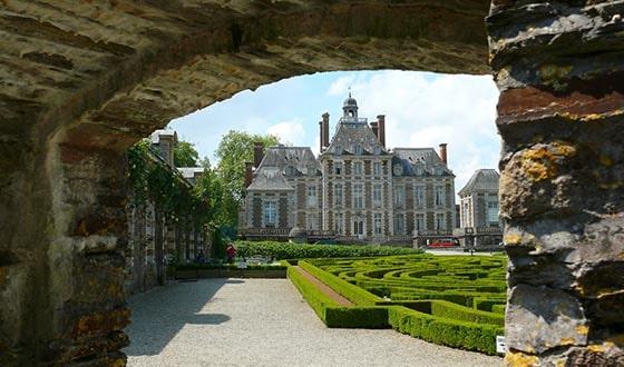 Jardin d'un château