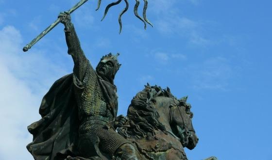 Statue Guillaume Le Conquérant