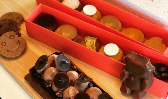 Choux et chocolat
