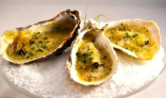 Recette avec des huîtres de Normandie