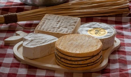 Plateau de fromages normands