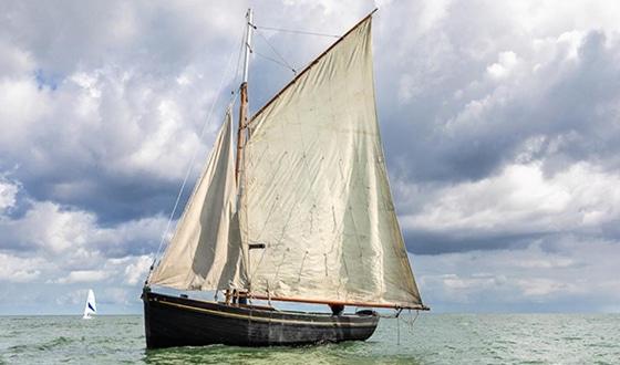 Vieux gréement en mer