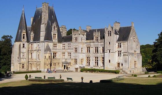 Façade de château