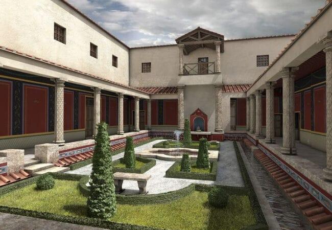 Maquette maison romaine